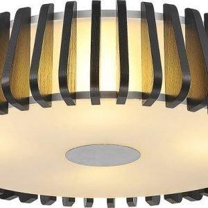Kattovalaisin FocusLight Forum 4x60W 230V IP20 Ø 540mm musta