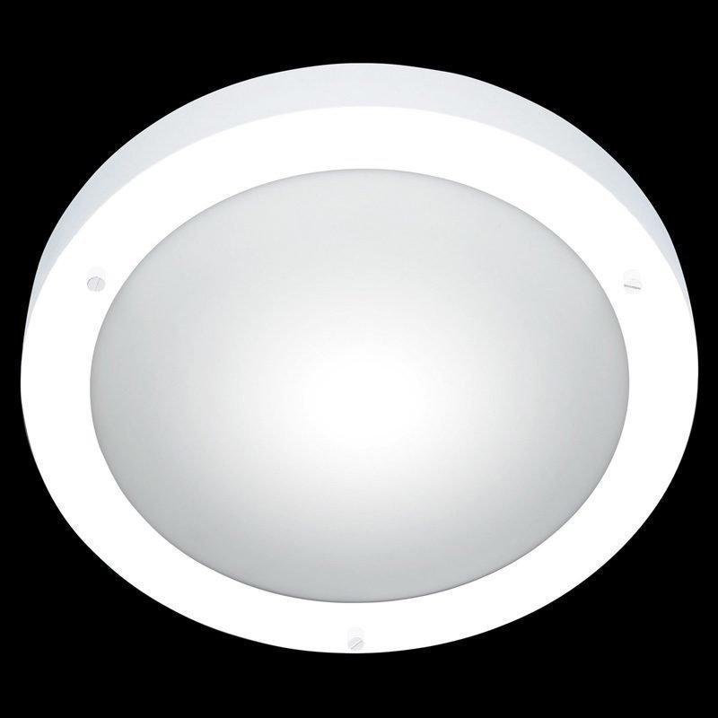 Kattovalaisin H2O 6801 Ø 315x80 mm IP44 valkoinen/opaalilasi