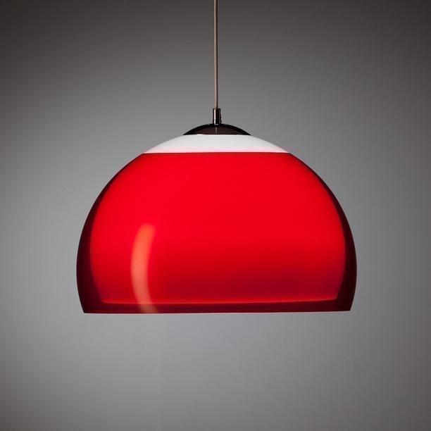 Kera Interior Dipol riippuvalaisin (punainen)(johto 1
