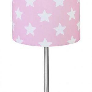 Kids Concept Star Pöytävalaisin Vaaleanpunainen/valkoinen/hopea