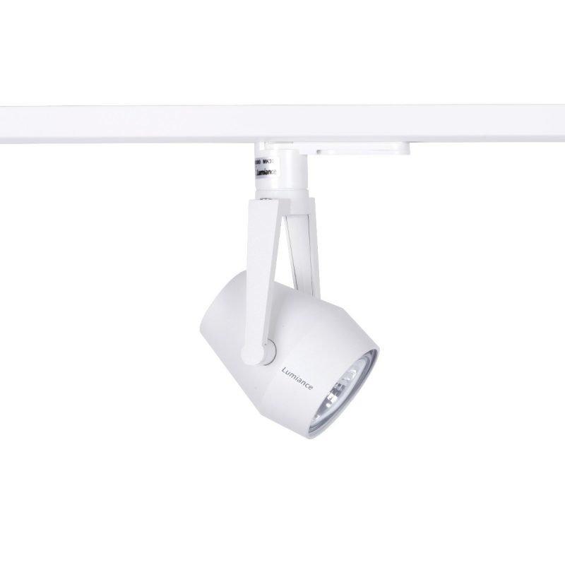Kiskovalaisin Axo XS Hi-Spot ES50 Ø 65x150 mm valkoinen 1-vaihekiskoon