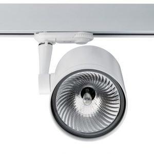 Kiskovalaisin Beacon Hi-Spot 50W ES50 Ø 58x113 mm valkoinen 3-vaihekiskoon