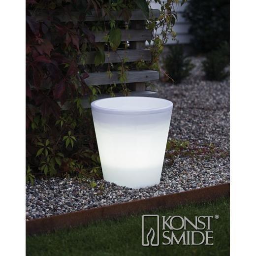 Konstsmide Assisi Valaistu LED-Ruukku (28 cm)