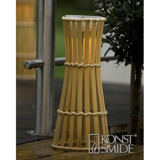 Konstsmide Bambu -aurinkokennolyhty