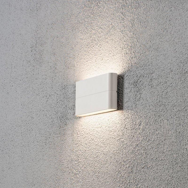 Konstsmide Chieri 7973 Seinävalaisin Valkoinen