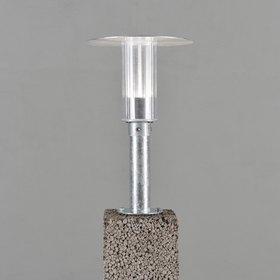 Konstsmide LED-porttivalaisin Mode 701-320 Ø 280x440 mm sinkitty teräs