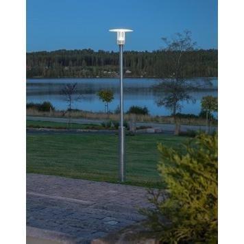 Konstsmide LED-pylväsvalaisin Mode 703-320 Ø 350x2200 mm sinkitty teräs