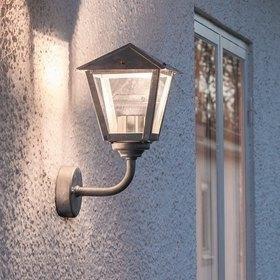 Konstsmide LED-seinävalaisin Benu 440-320 210x250x390 mm yläsuunta sinkitty teräs