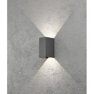 Konstsmide LED-seinävalaisin Cremona 7940-370 80x110x170 mm ylös/alas antrasiitti