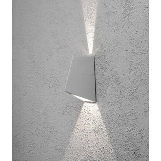 Konstsmide LED-seinävalaisin Imola 7928-310 85x135x195 mm ylös/alas alumiini