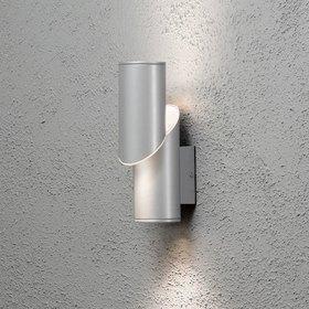 Konstsmide LED-seinävalaisin Imola 7935-310 80x150x260 mm ylös/alas alumiini