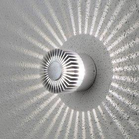Konstsmide LED-seinävalaisin Monza 7900-310 Ø 90x80 mm alumiini