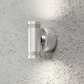 Konstsmide LED-seinävalaisin Monza 7929-310 45x85x125 mm ylös/alas alumiini