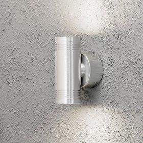 Konstsmide LED-seinävalaisin Monza 7930-310 60x100x150 mm ylös/alas alumiini