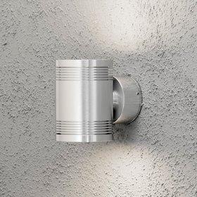 Konstsmide LED-seinävalaisin Monza 7931-310 100x140x120 mm ylös/alas alumiini
