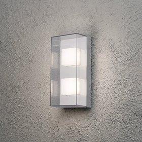 Konstsmide LED-seinävalaisin Sanremo 7936-310 140x110x310 mm alumiini/kirkas