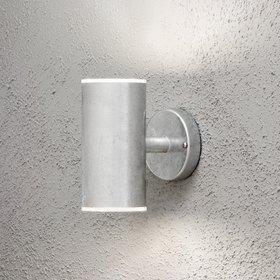 Konstsmide LED-seinävalaisin Ull 590-320 115x180x200 mm ylös/alas sinkitty teräs