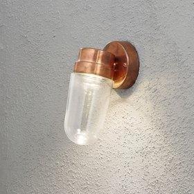 Konstsmide LED-seinävalaisin Vega 413-900 115x185x245 mm kupari