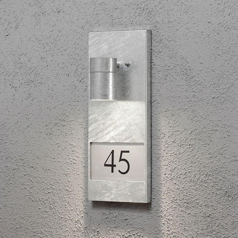 Konstsmide Modena 7655 Seinävalaisin Metallinen