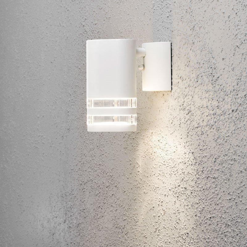 Konstsmide Modena Seinävalaisin Valkoinen
