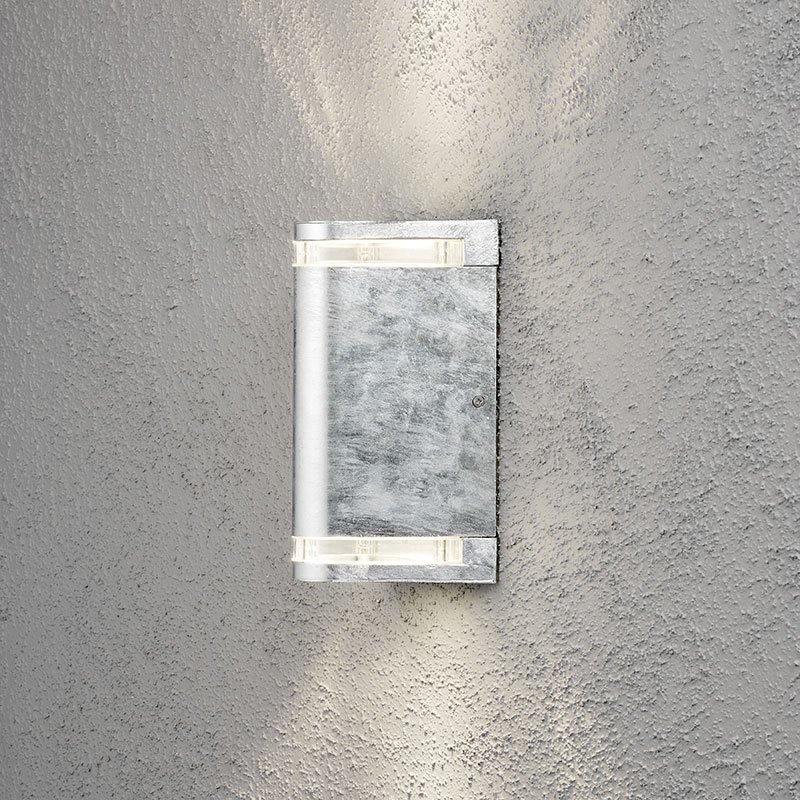 Konstsmide Modena Seinävalaisin Ylös-/alaspäin Metallinen