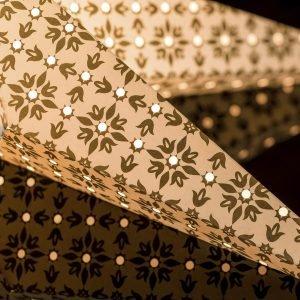 Konstsmide Paperitähti Kulta 60 Cm