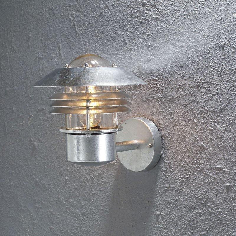 Konstsmide Parma PIR Seinävalaisin Metallinen