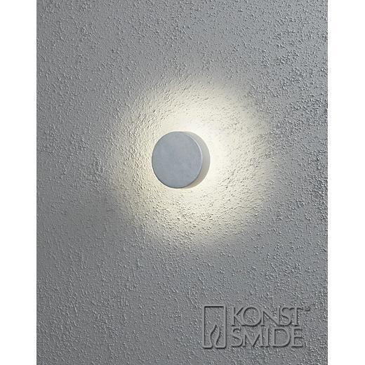 Konstsmide Pesaro ulkoseinävalaisin LED (pyöreä)