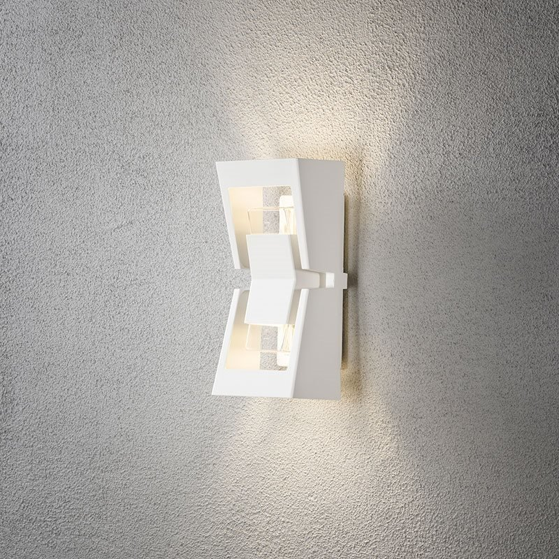 Konstsmide Potenza 7971 Seinävalaisin Valkoinen