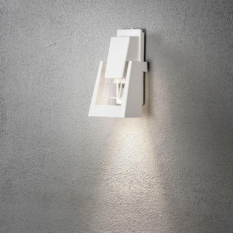 Konstsmide Potenza 7979 Seinävalaisin Valkoinen
