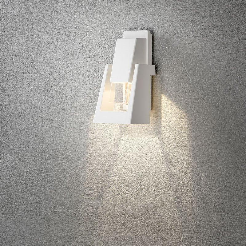 Konstsmide Potenza 7982 Seinävalaisin Valkoinen