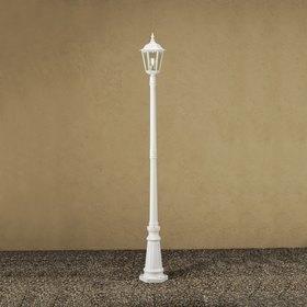 Konstsmide Pylväsvalaisin 7233-250 Firenze valkoinen matta 2200 mm