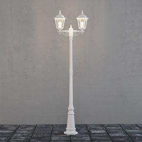 Konstsmide Pylväsvalaisin 7234-250 Firenze valkoinen 2-haarainen 2200 mm
