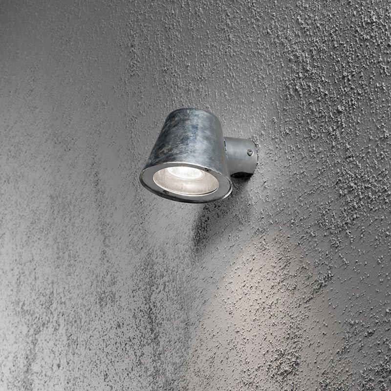 Konstsmide Trieste Seinävalaisin Metallinen