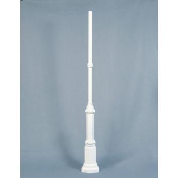 Konstsmide Valaisinpylväs 575-250 Hercules valkoinen 2130 mm