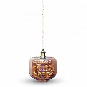 Korkea Meripihka Lasi LED Ripustusvalaisin