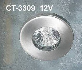 Kostean tilan halogeenivalaisin CT-3309 QR-CB51 50 W IP44 12V