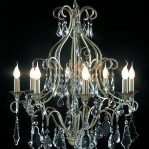Kristallikruunu Florence Ø 700 mm vaalea kulta/kristalli