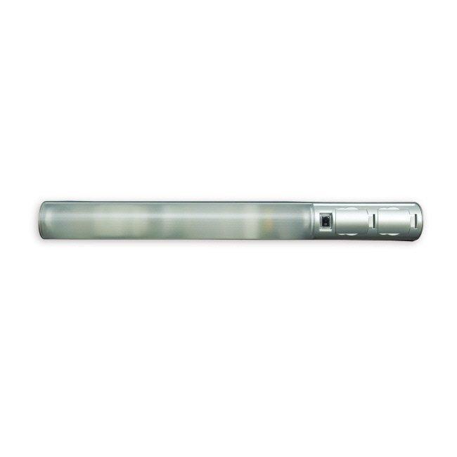 Kylpyhuonevalaisin 11W G23 IP44 521 mm harmaa + 2-osainen pistorasia + kytkin