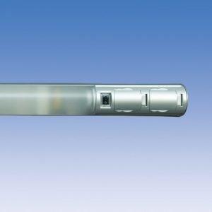 Kylpyhuonevalaisin Alisa ALH14215 T8 15W 661 mm 2-osainen pistorasia + kytkin harmaa