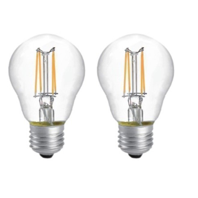 LED Filament 2PACK 6W kirkas E27 2700K