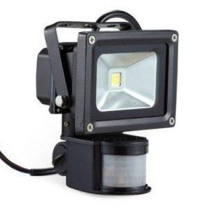 LED Kannettava Ladattava LED Valonheitin 10W sensorilla