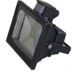 LED Kannettava Ladattava LED Valonheitin 50W sensorilla
