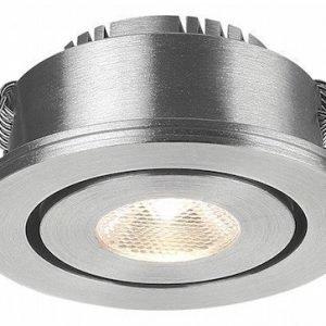 LED MOODSPOT kohdespotti 3W hopea 3000K suunnattava