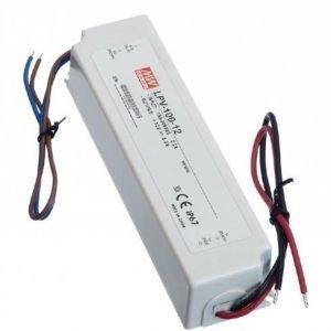 LED Muuntaja Meanwell LPV-100-24 100W 24V IP67