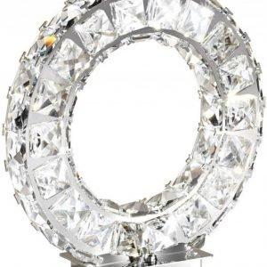 LED-Pöytävalaisin Toneria kromi kristalli