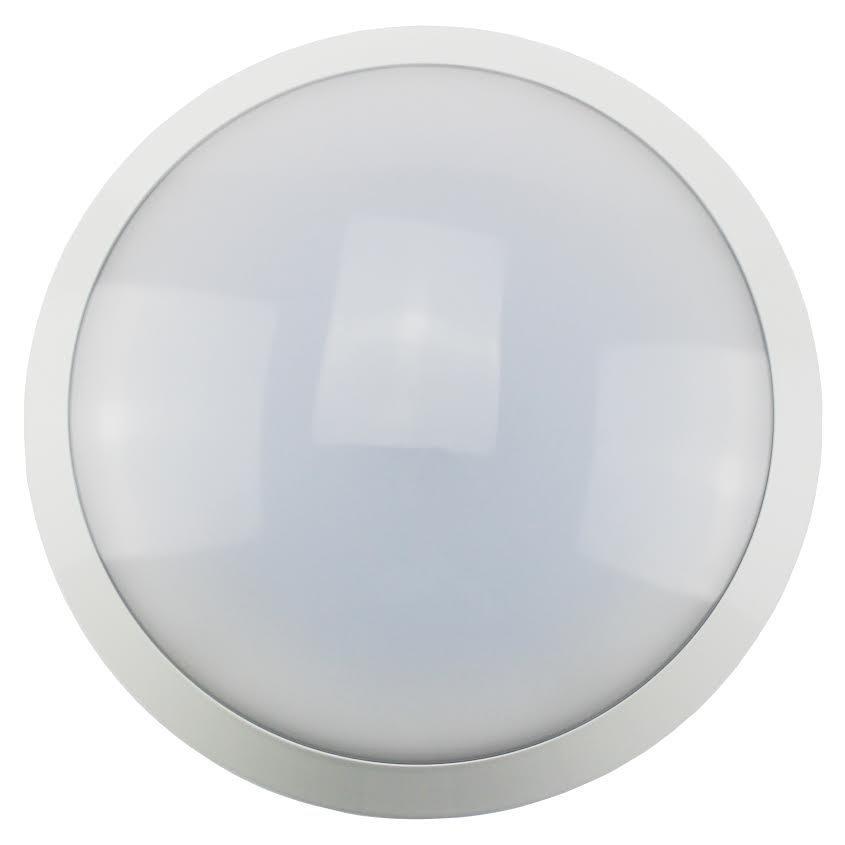 LED Plafondi 15W 4000K IP44 1200lm IK10 liiketunnistimella