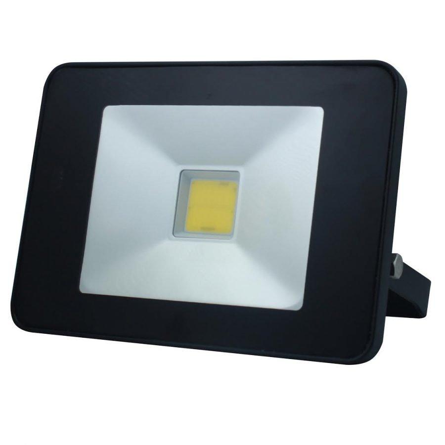 LED SLIM tunnistin- valonheitin 30W musta kaukosäätimellä