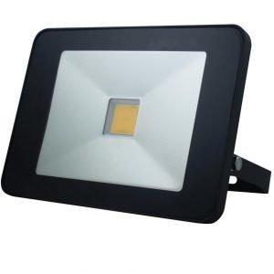 LED SLIM tunnistin-valonheitin 50W musta kaukosäätimellä
