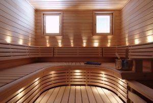 LED Saunavalosarja 18-osainen ja 12-osainen